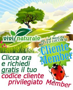 NeoLife Golden Nutriance di GNLD: richiedi lo speciale codice cliente privilegiato Member