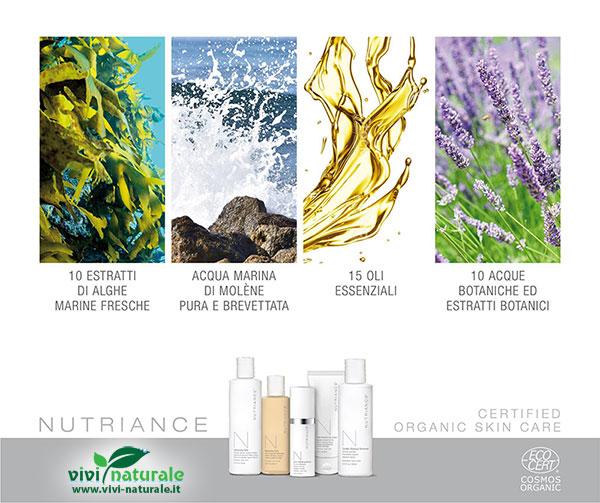 Nutriance Organic: linea certificata biologica per la cura della pelle del viso