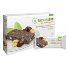 NeoLife Bar GNLD barretta energetica con proteine, fibre, omega-3, 17 vitamine, cereali, semi, cioccolato, arachidi. No glutine