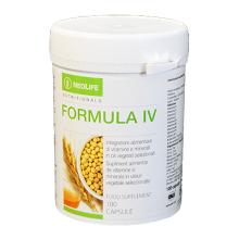Formula IV di GNLD integratore naturale multivitaminico, minerali (tra cui ferro), lipidi e steroli da oli di grani integrali