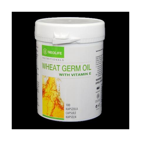 Wheat Germ Oil di GNLD integratore olio di germe di grano di tutte 8 le forme di vitamina E, 4 tocoferoli e 4 tocotrienoli