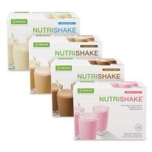 NutriShake di GNLD integratore alimentare di proteine, tutti e 22 amminoacidi, carboidrati e calcio in 4 deliziosi gusti