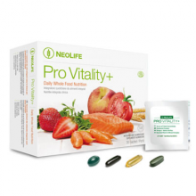Pro Vitality+ NeoLife GNLD integratore di lipidi, steroli da grani integrali, acidi grassi omega-3, vitamine, minerali e ferro