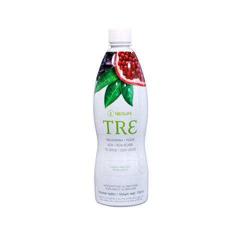 Tre NeoLife GNLD integratore flavonoidi da acai, melagrana e tè verde, con mirtilli, sanbuco, resveratrolo, acido alfa-lipoico