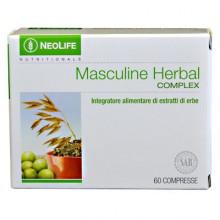 Masculine Herbal Complex NeoLife GNLD integratore naturale per uomini, 9 erbe tra cui palmetto di Sabal, melissa, damiana