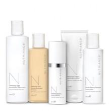 Programma completo biologico cura pelle viso normale e secca Nutriance Organic NeoLife