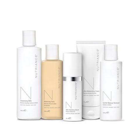 Programma pelle normale e secca Nutriance Organic