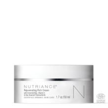 Rejuvenating Rich Cream Nutriance Organic crema ringiovanente Biologica Testata clinicamente riduce le rughe