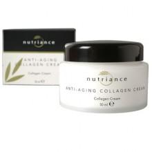 Anti-Aging Collagen Cream di GNLD crema idratante, nutriente al collagene, elastina, Aloe Vera, con squalano e estratti vegetali