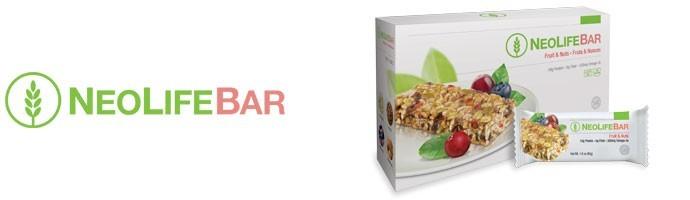 NeoLifeBar GNLD barretta snack ai cereali integrali, frutta secca e semi senza glutine