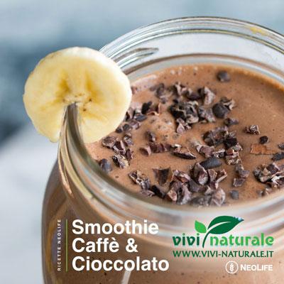 NeoLifeShake ricetta con caffè e cioccolato