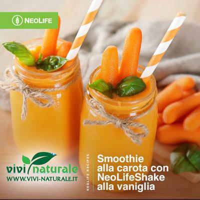 NeoLifeShake ricetta con carote
