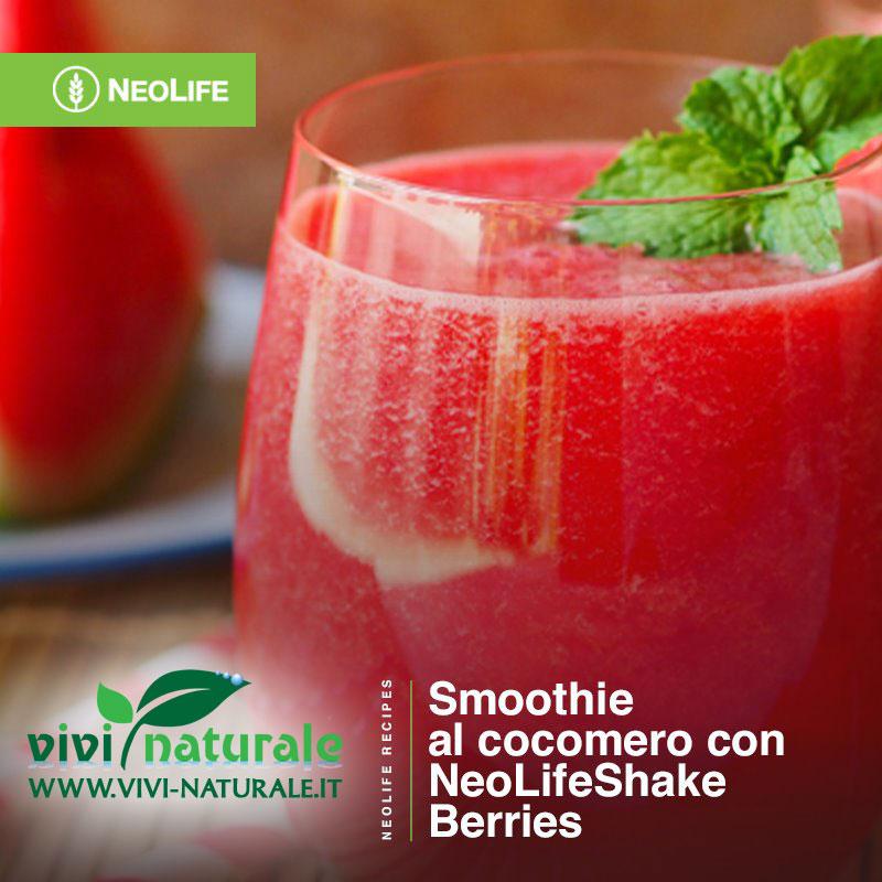 NeoLifeShake frutti di bosco ricetta con cocomero