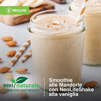 NeoLifeShake ricetta con mandorle