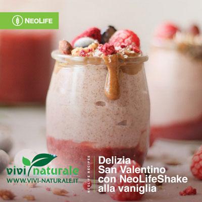 NeoLifeShake ricetta di San Valentino