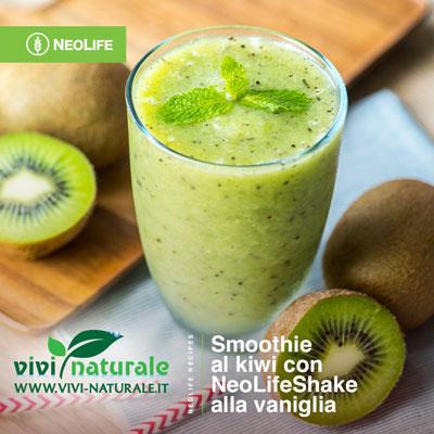 NeoLifeShake ricetta con kiwi e avocado